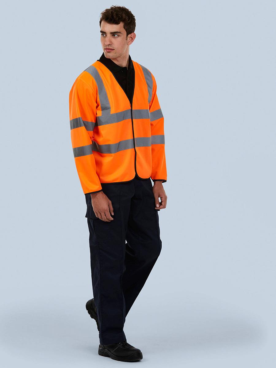 UC802 Long Sleeve Safety Waist Coat