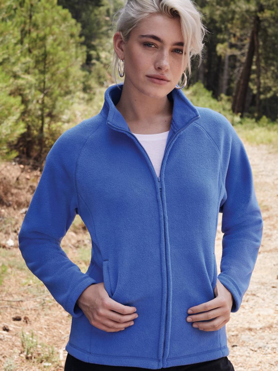 62066 Ladies' Full Zip Fleece