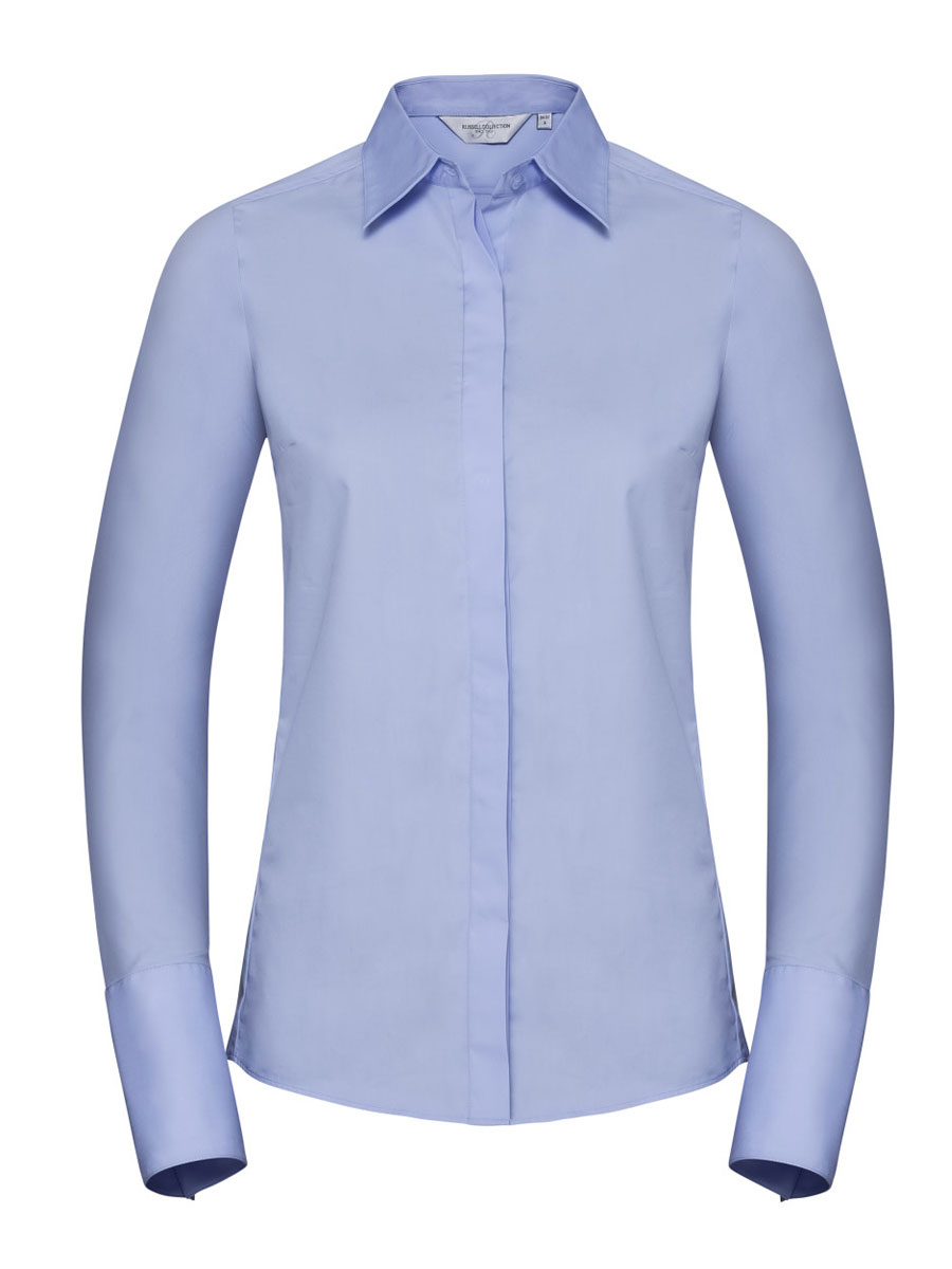 Ladies' Long Sleeve Ultimate Stretch Shirt