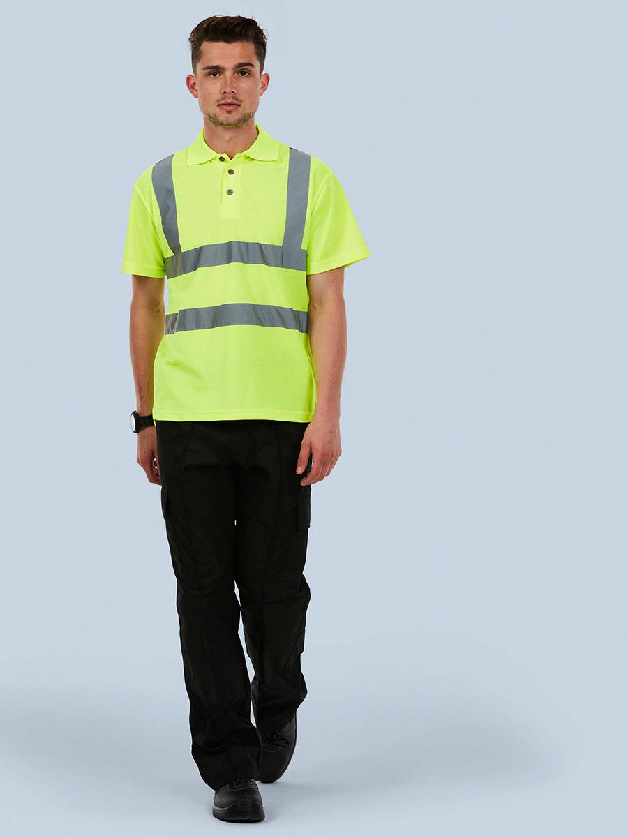 UC805 Hi-Viz Polo Shirt